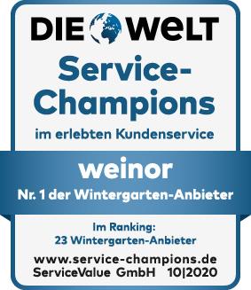 Die Welt Servicechampion