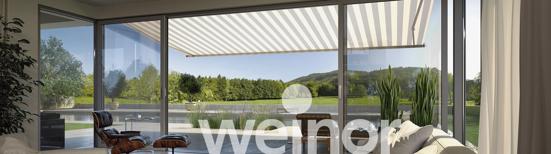 Wohnzimmerz Seitenschutz Balkon With Weinor Markisen Terrassendƒ